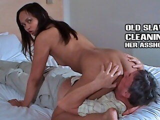 shesboss kink Older slave cleans feet pussy and asshole