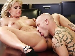 office pussy licking Ryan Conner Busty Milf In Office