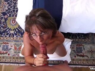 big tits hd Busty mature, Carry Ann got lots of cum on face after a hardcore fuck session