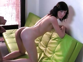 casting office FakeAgent Sexy shy brunette bent over desk and fucked hard in Office
