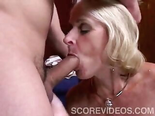 blonde blowjob Interior Decorator
